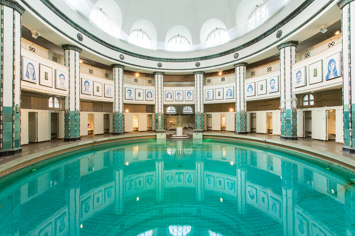 Designpreis Halle 2014 — Venue: Historic baths, the Stadtbad