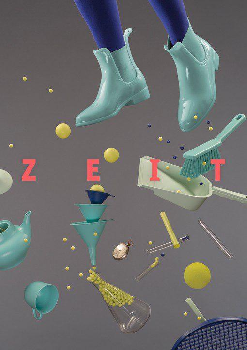 Ausstellung ehem. physikalische Chemie - Thema »Zeit«