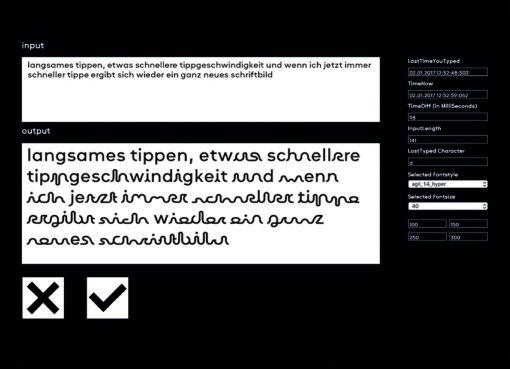 Charlotte Lengersdorf - agil – Entwurf einer interaktiven Schrift